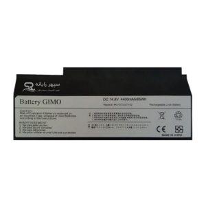 باتری لپ تاپ ایسوس G53-G73-8Cell مشکی